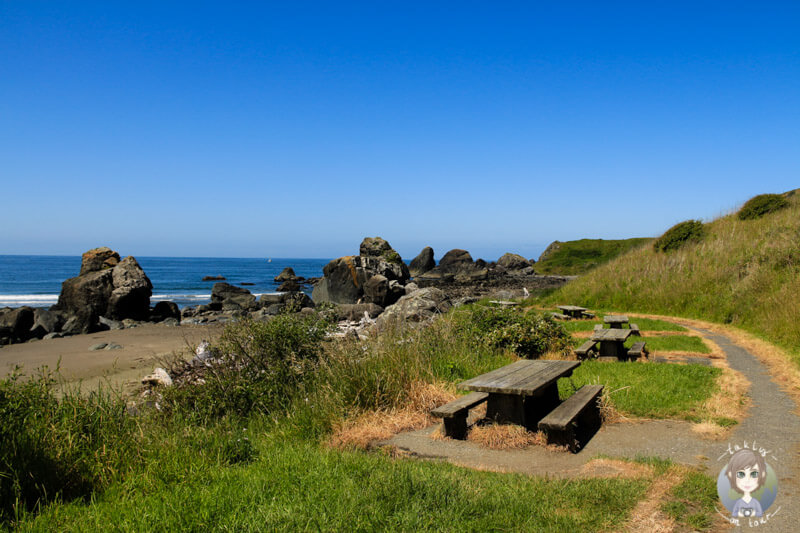 Beach am Samuel Boardman Scenic Corridor
