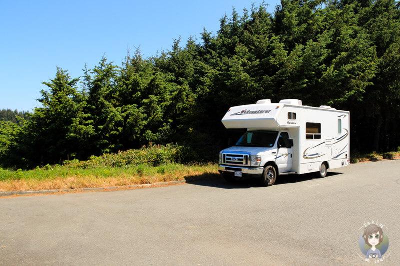 Mit dem Camper entlang des Samuel Boardman Scenic Corridors