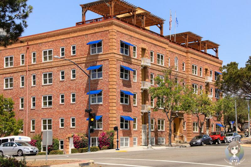 Ein Gebäude in San Diego