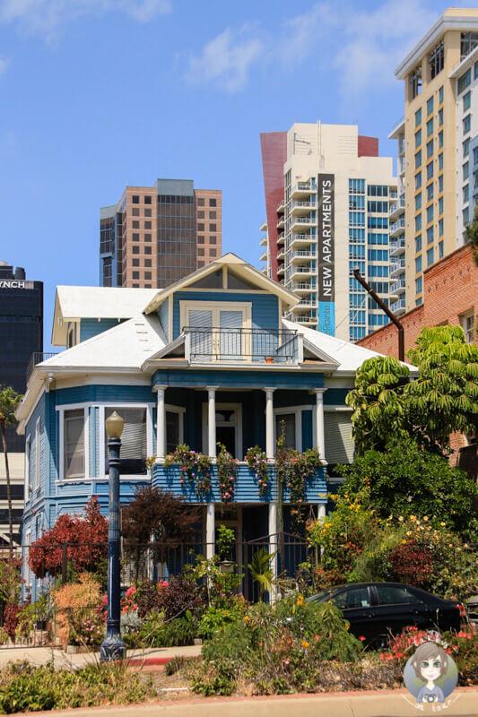 Ein Haus in San Diego