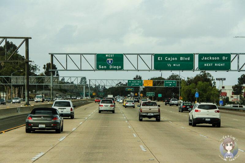 Autobahn in San Diego