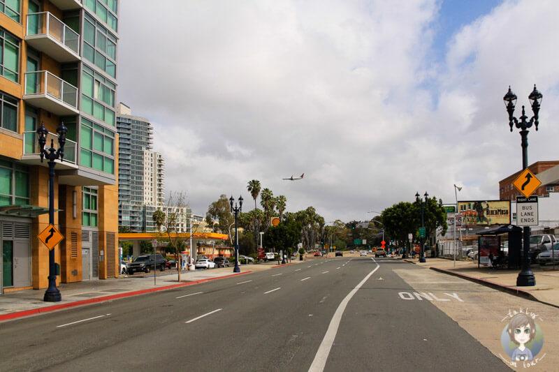 Hauptstraße in San Diego