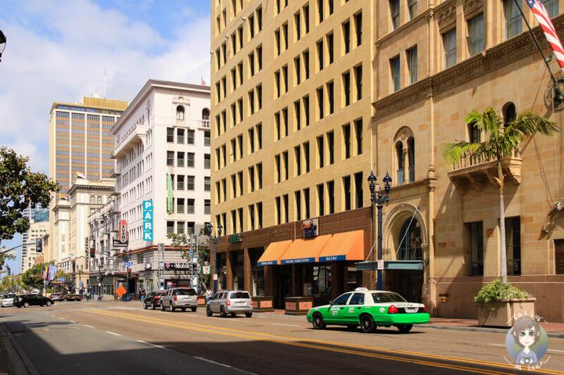 Häuserzeile in San Diego