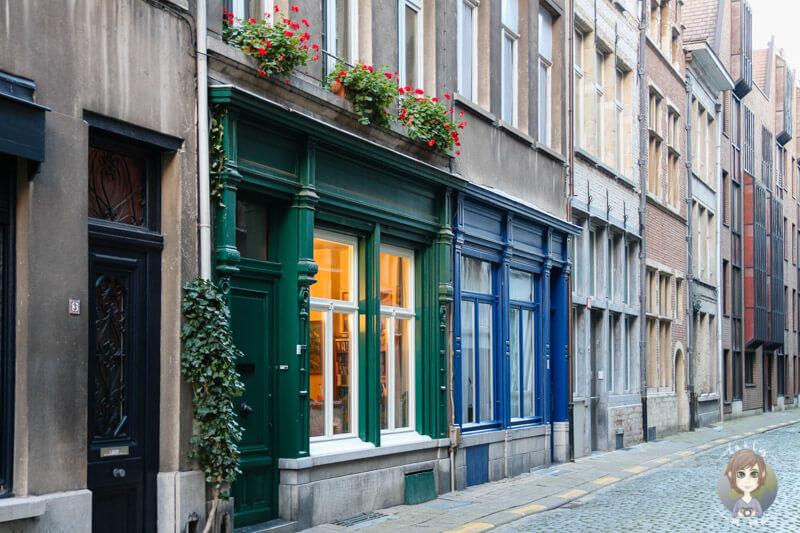 Immer wieder gibt es wunderschöne Gebäude in Antwerpen