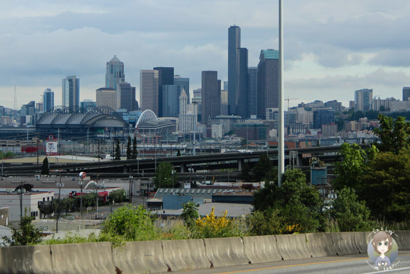 Fahrt an Seattle vorbei