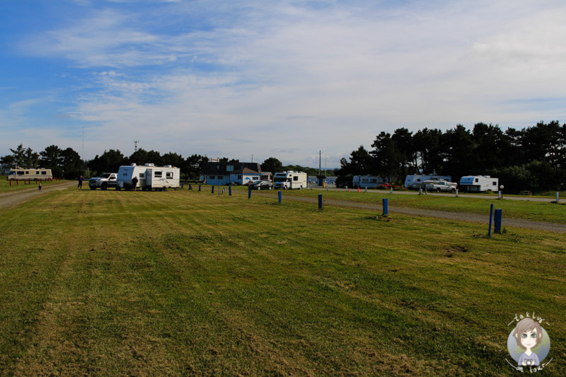 Shoreline RV Park in Crescent City