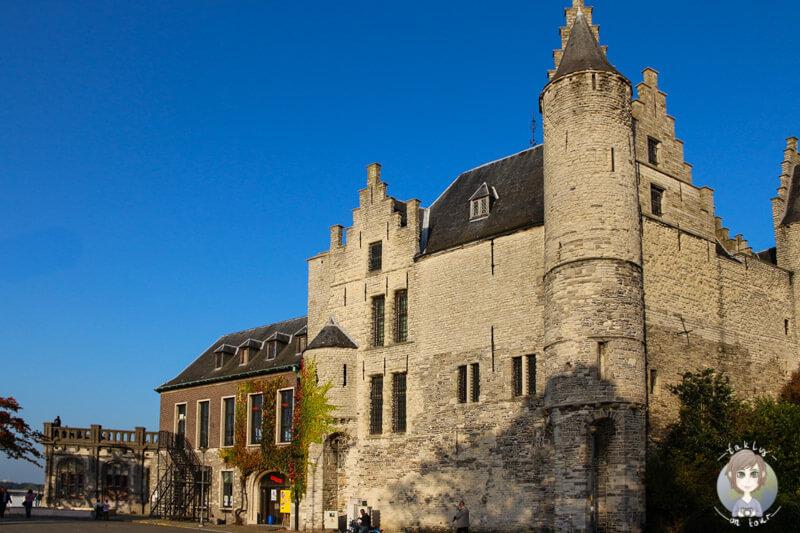 Die Stadtburg Het Steen in Antwerpen