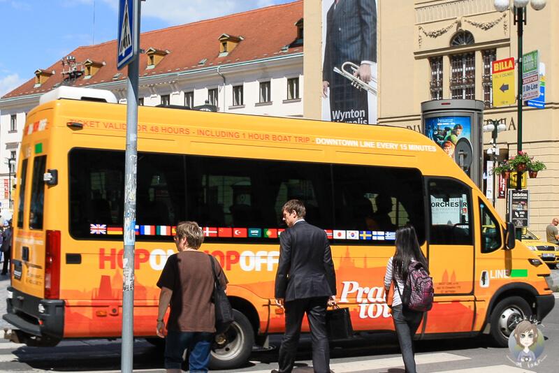 Eine Stadtrundfahrt durch Prag ist die beste Art um die Stadt zu erkunden