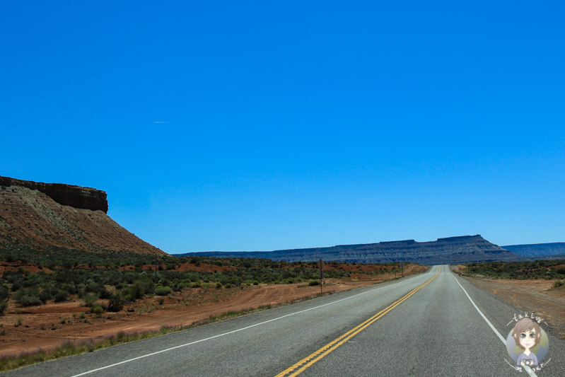 Straße in Utah (1)