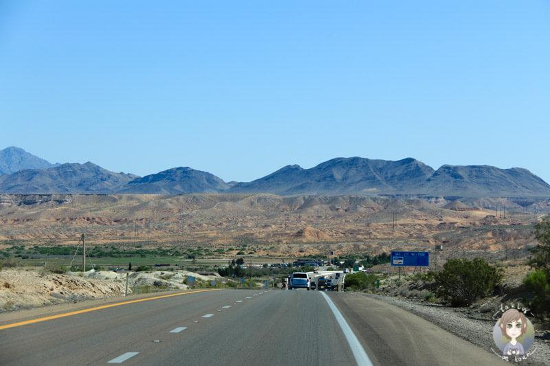 Fahrt zum Zion National Park