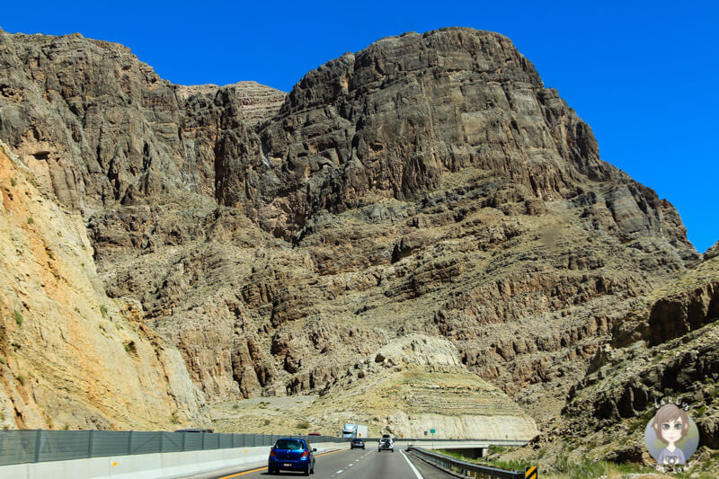 Fahrt durch Utah