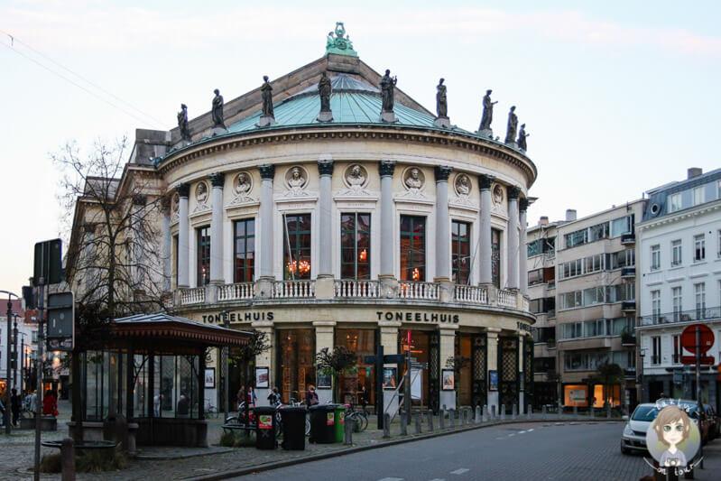Das Toneelhuis in Antwerpe