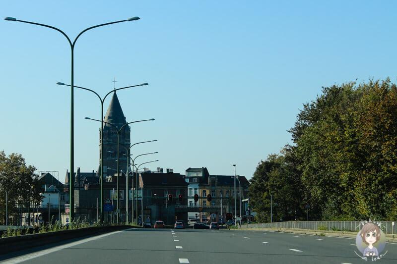 Der erste Blick auf Antwerpen