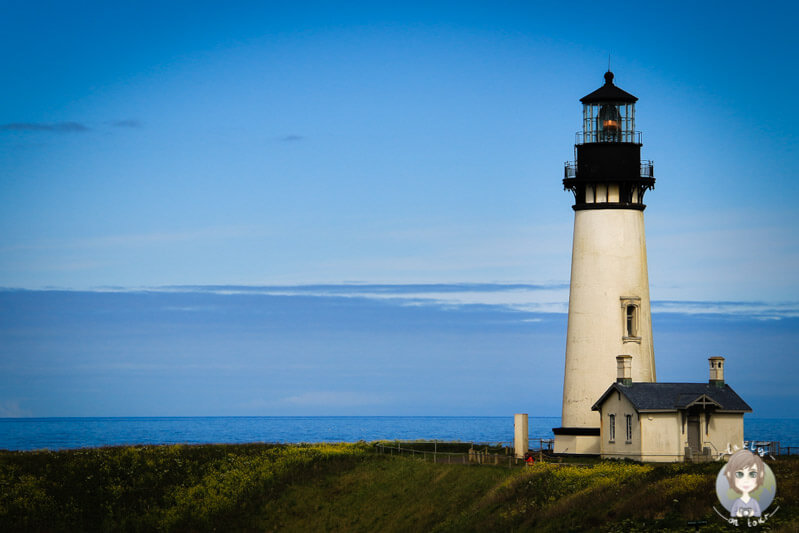 Yaquina Head Lighthouse in Oregon