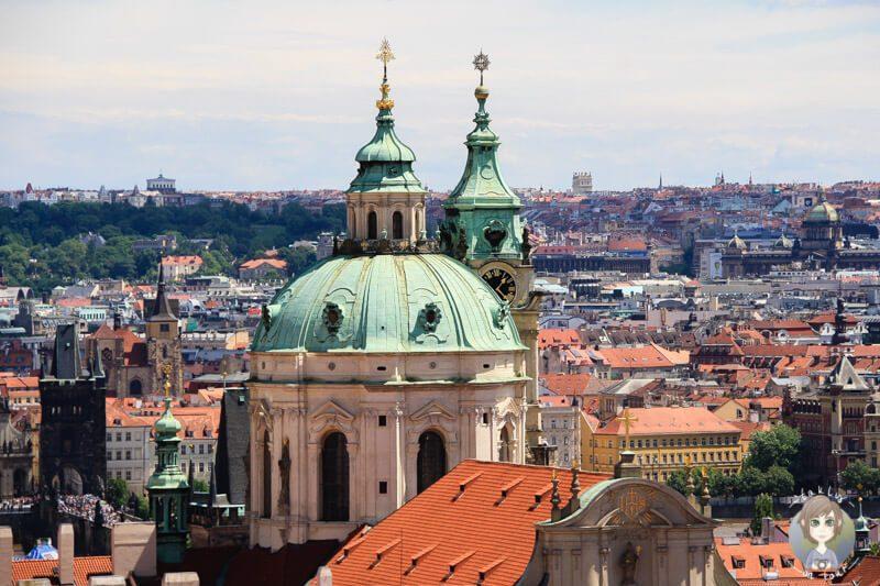 Prag Tipps - die St. Niklas Kirche in Prag Tipps fuer deine Prag Reise