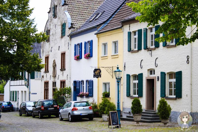 Die Altstadt von Bedburg Kaster, Rheinland