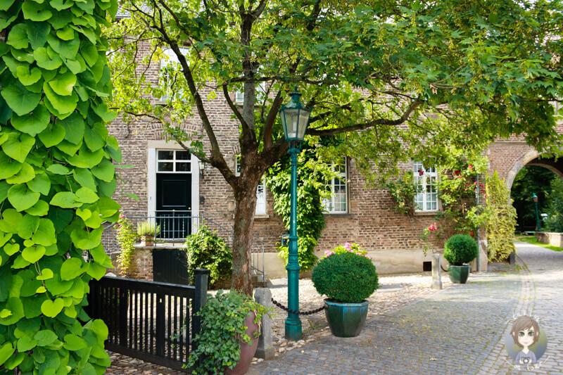 Schöne Hinterhöfe auf der Fototour durch das Rheinland