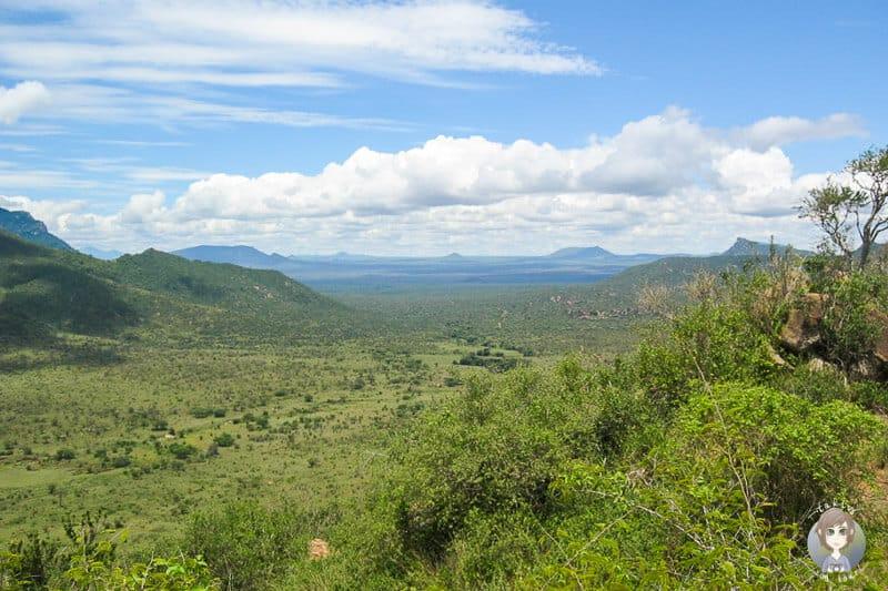 Atemberaubender Aussichtspunkt im Tsavo West