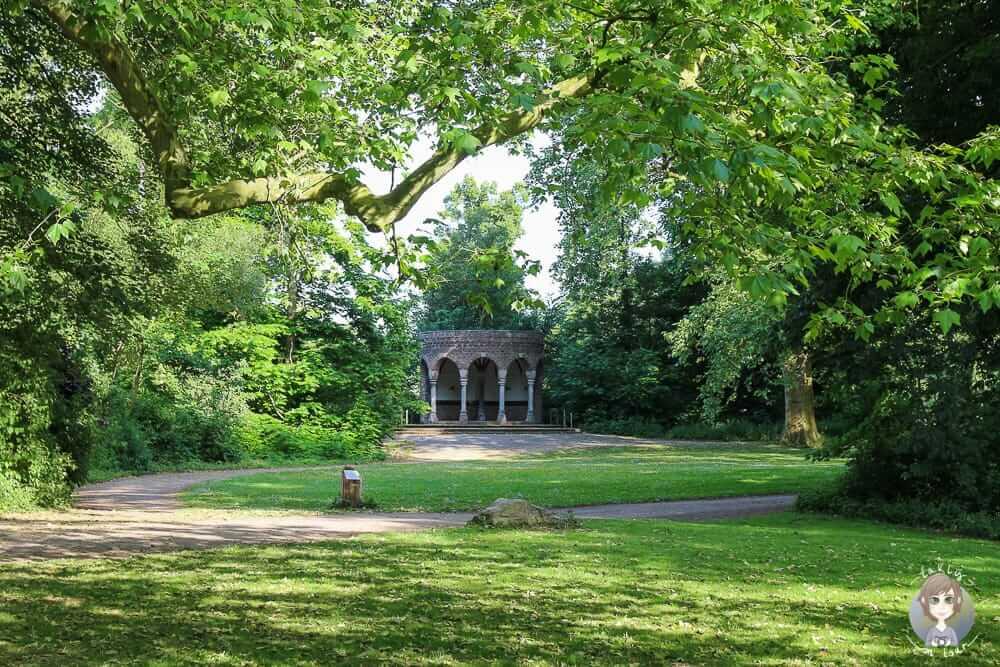Pavillon im Schlosspark Paffendorf