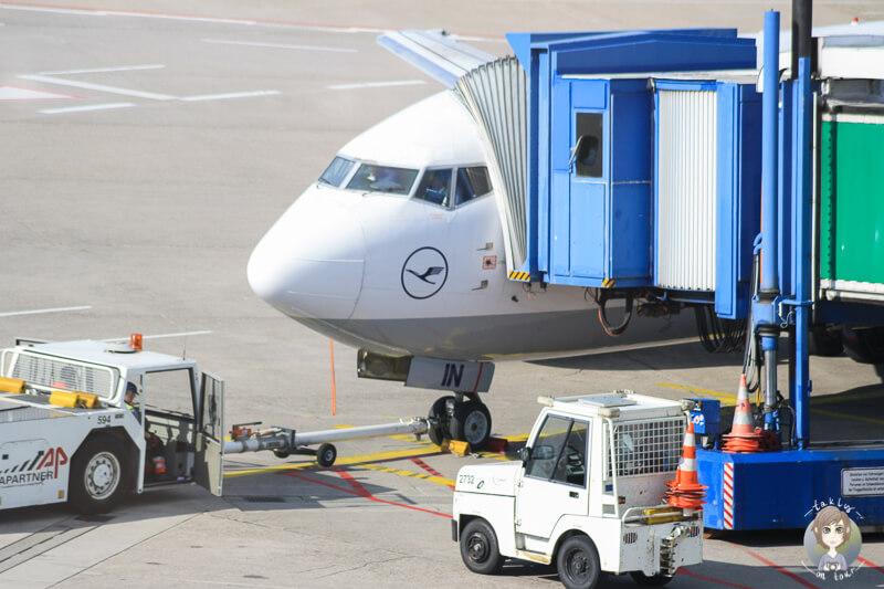 Abfertigung Flughafen fotografieren