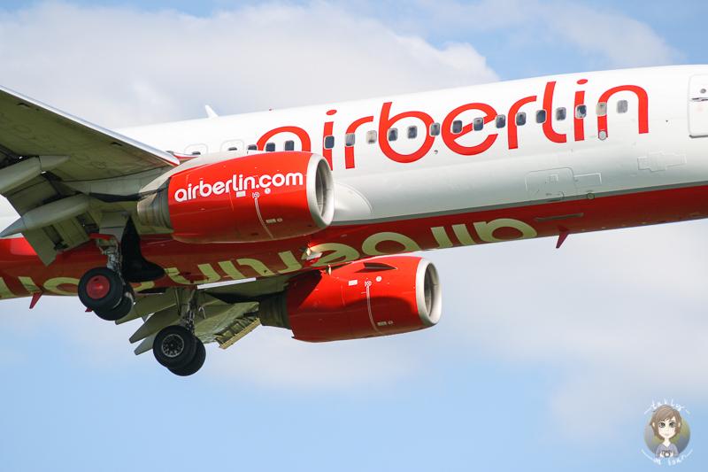 Air berlin Flugzeuge beobachten