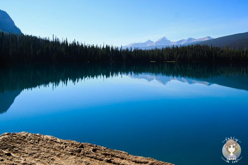 Einer der schönsten Seen in Kanada, der Emerald Lake im Yoho Nationalpark