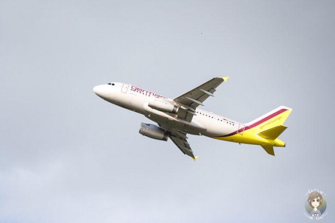 Flugzeuge beobachten Besucherrterasse Koeln Bonn