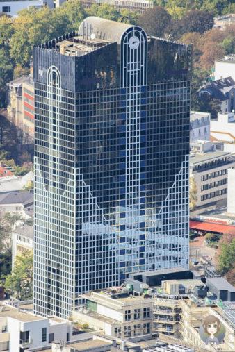 Architektur Aussichtsplattform Frankfurt