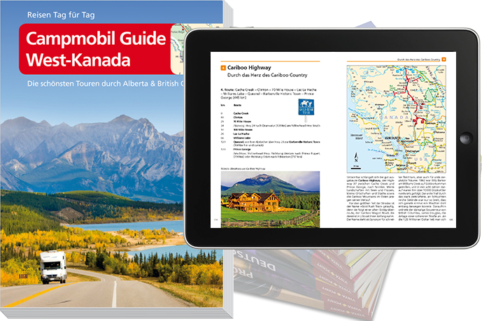 Campmobil Guide West Kanada Vista Point Verlag
