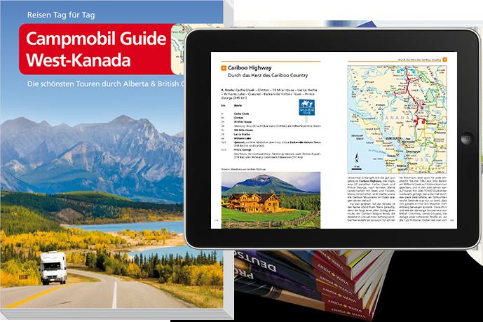 Campmobil Guide West Kanada Vista Point Verlag