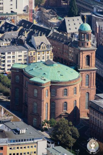 Kirche Frankfurt Main Tower