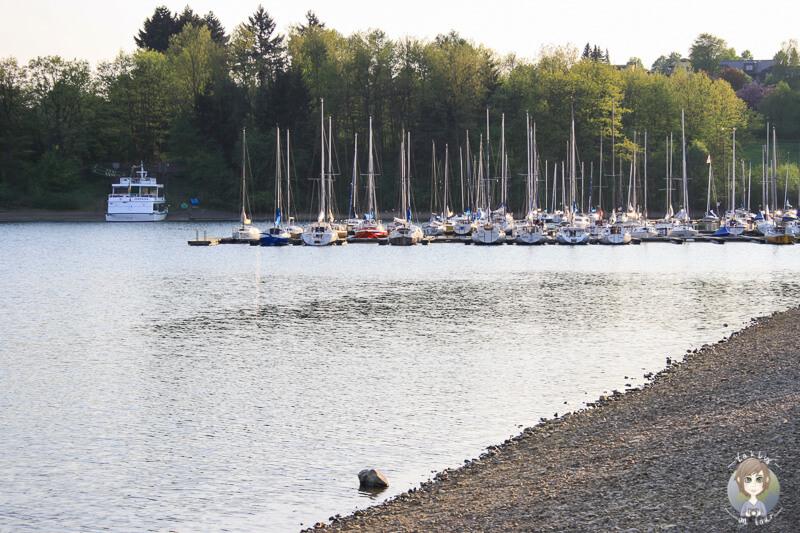 Segelboote-Sorpesee-Sauerland