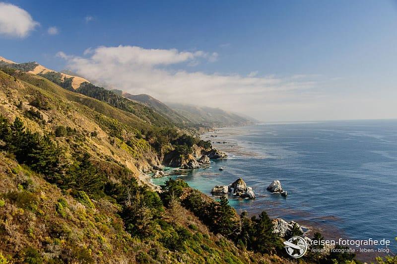 Blick über Westküste der USA Unterschied Westküste und Ostküste