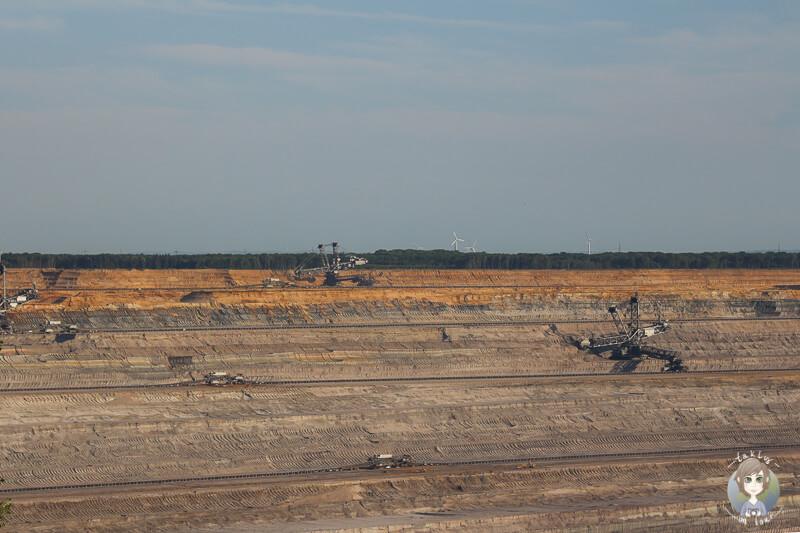 Arbeit Tagebau Hambach