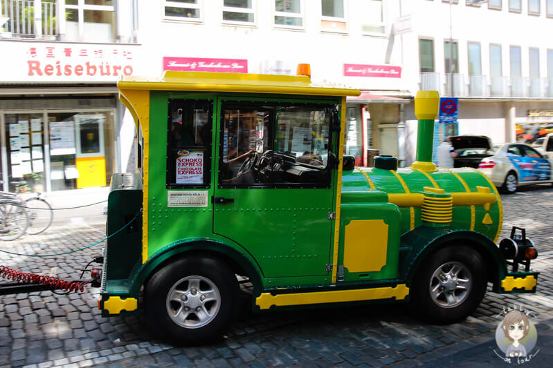 Die Bimmelbahn in Köln