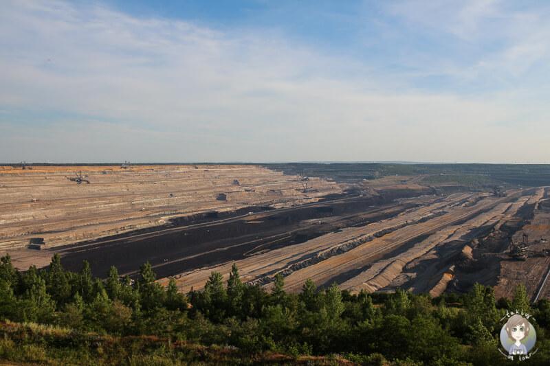 Braunkohleabbau Tagebau Hambach NRW