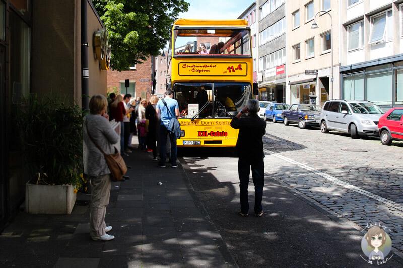 Stadtrundfahrt durch Köln mit einem Sightseeingbus