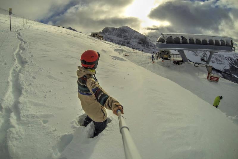 Sunshine Village im Winter in Kanada