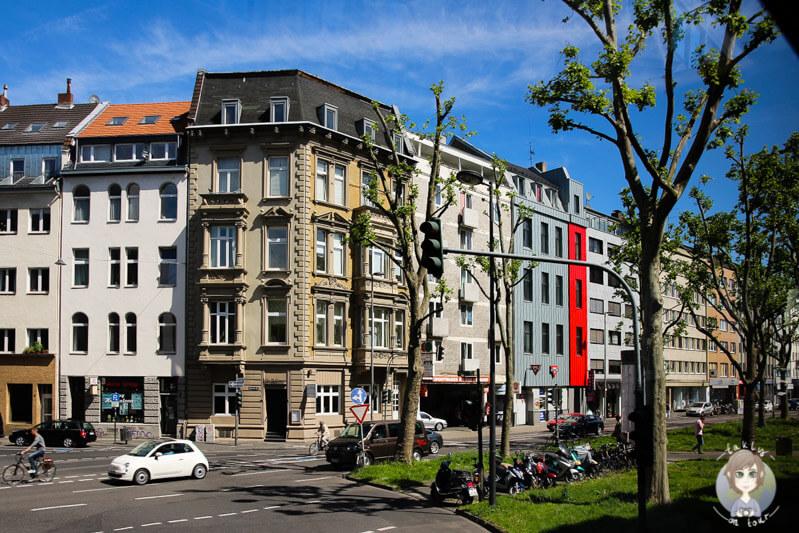 Tolle Architektur am Kölner Ring, NRW