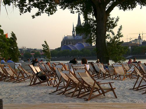 Beachclub in Köln Foto: ©Sabine Niemer