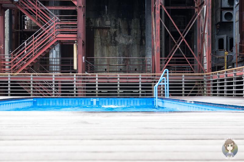 Schwimmbad Zeche Zollverein Essen