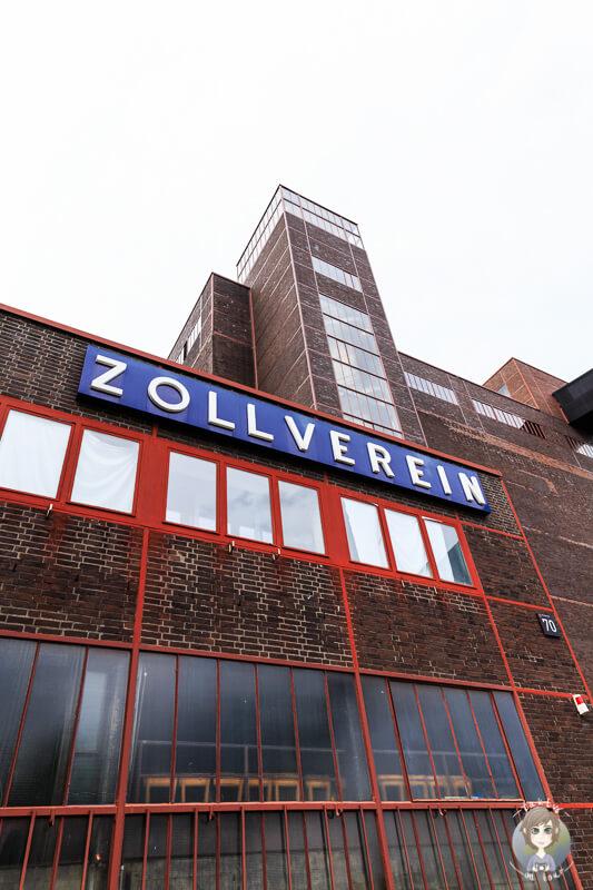 Zeche Zollverein Essen Willkommen