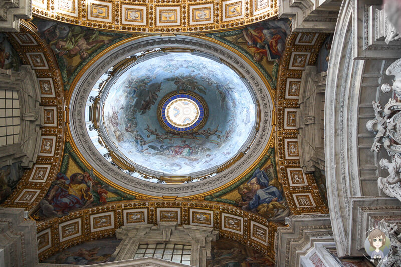 Petersdom Michelangelo Rom