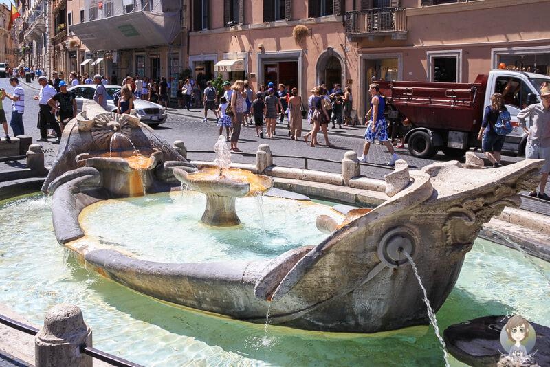 Piazza di Spagna Rom