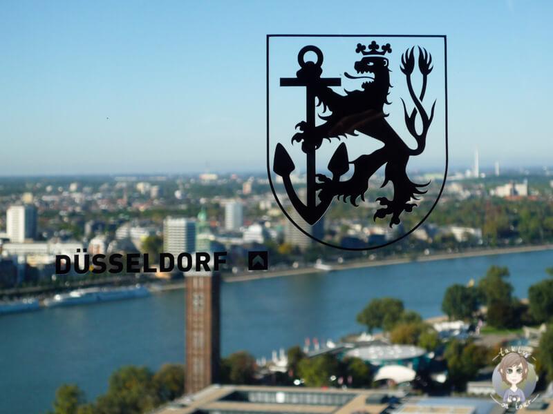 Aussichtsplattform Koeln Duesseldorf