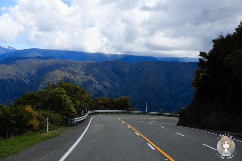 Fahrt über den Takaka Hill Highway, Abel Tasman