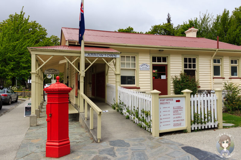 alte Postfiliale in Arrowtown