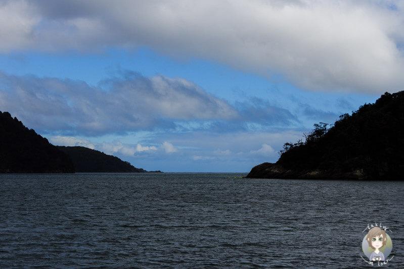 Wolken über dem Milford Sound