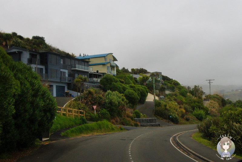 Die kleine Stadt Brighton, Neuseeland
