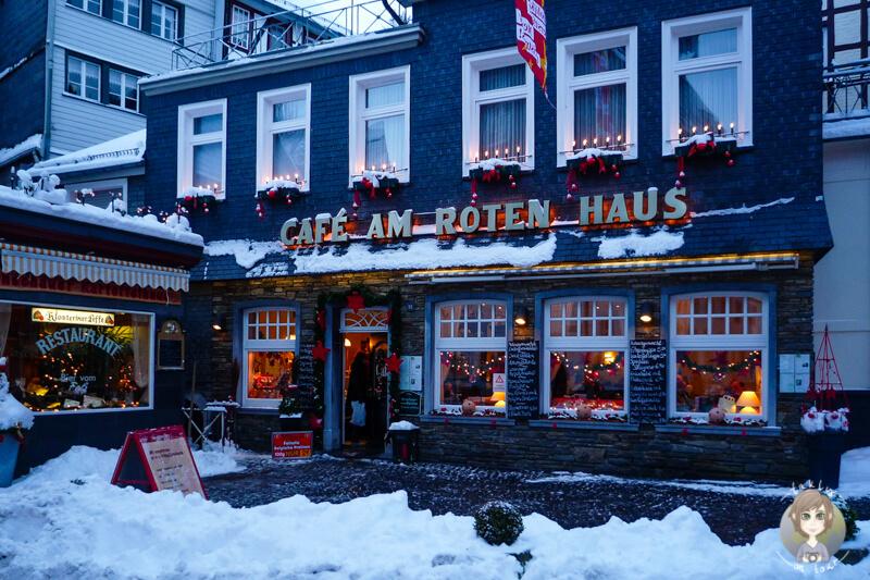 Cafe am roten Haus Monschau Eifel